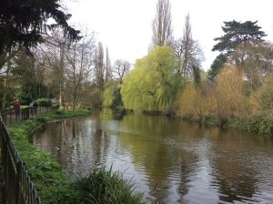 Chiswick House lake
