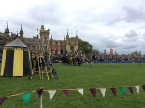 Jousting at Knebworth House