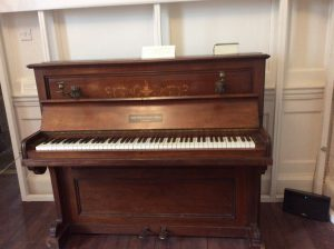 Vaughan Williams' piano