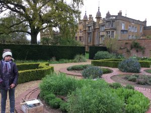 The herb garden at Knebworth