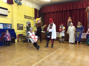 St George play